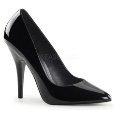 Pleaser SEDUCE-420 Black Patent Classic Pumps