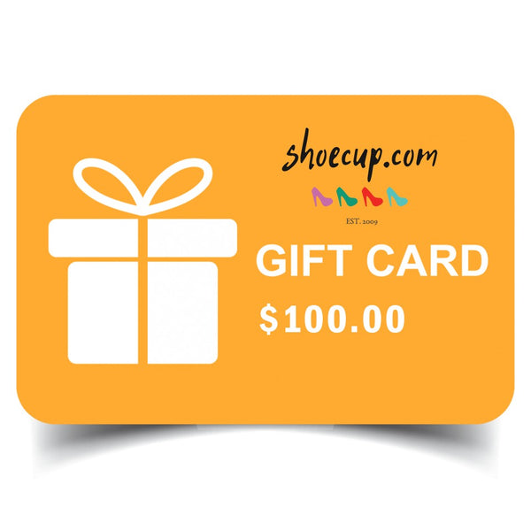 Shoecup Gift Card