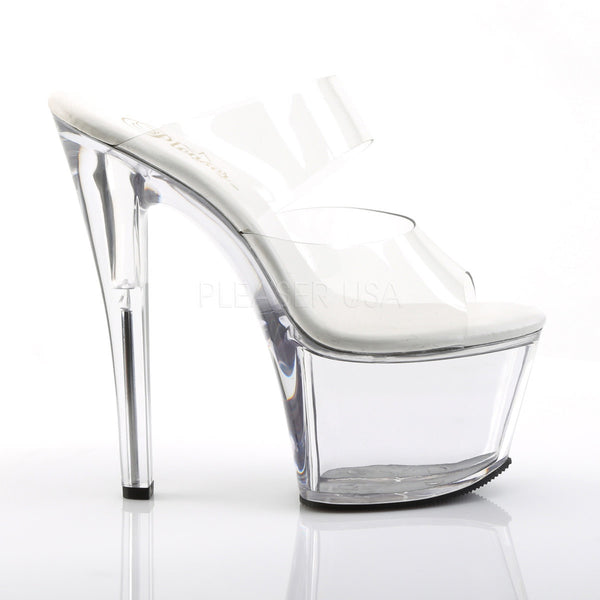 Pleaser SKY-302VL Clear Slides