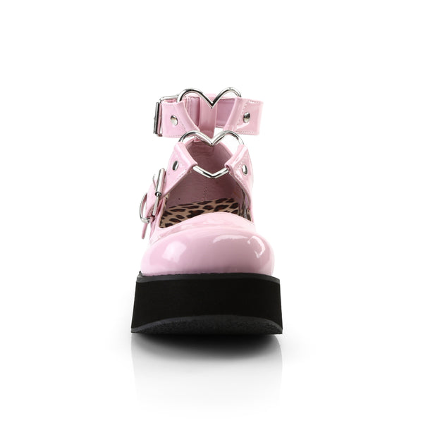 Demonia SPRITE-02 Baby Pink Patent Mary Jane - Shoecup.com - 4