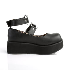 Demonia SPRITE-02 Black Vegan Leather Mary Jane - Shoecup.com - 3