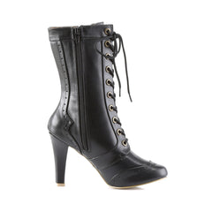 DEMONIA TESLA-102 Black Pu SteamPunk Boots - Shoecup.com - 5