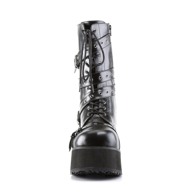 DEMONIA TRASHVILLE-205 Men's Black Pu Vegan Boots - Shoecup.com - 4