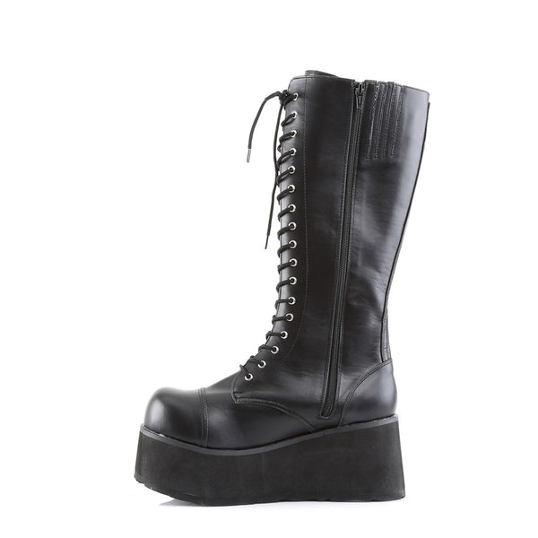 DEMONIA TRASHVILLE-502 Men's Black Pu Vegan Boots - Shoecup.com - 2