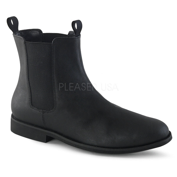 "1"" (25mm) Men's Pull-on Chelsea Boot With Elastic Side Panels