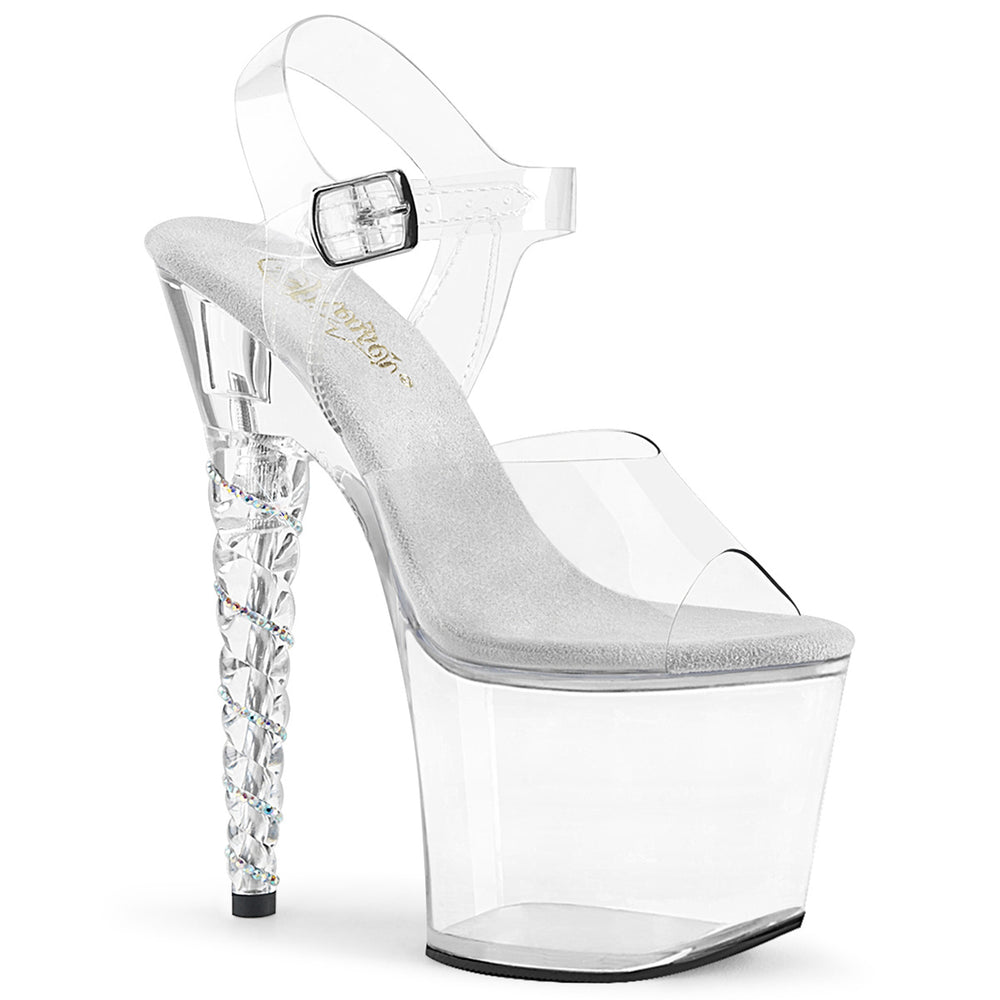 "7"" Heel UNICORN-708RSH Clear"