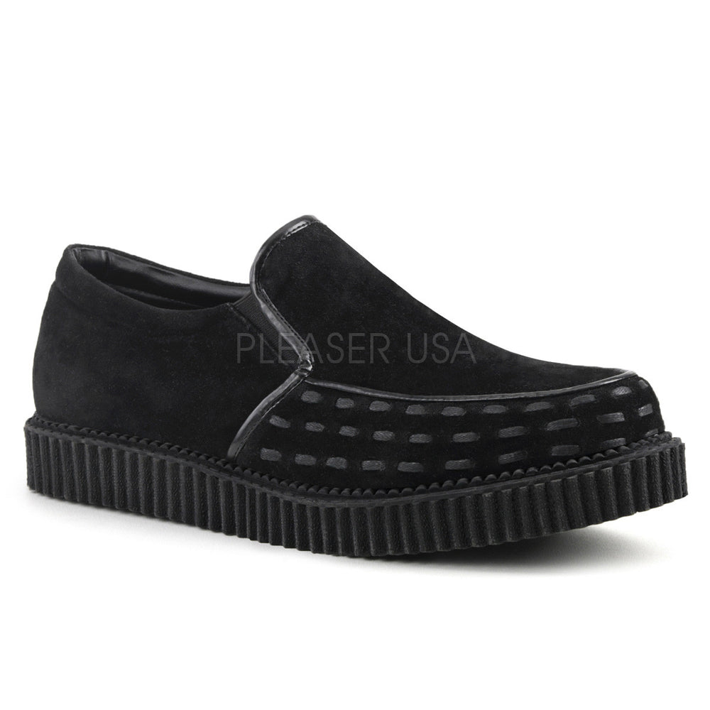 Demonia V-CREEPER-607 Black Loafer Creepers
