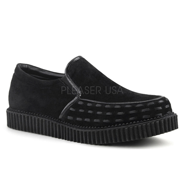 Demonia V-CREEPER-607 Black Loafer Creepers - Shoecup.com - 1