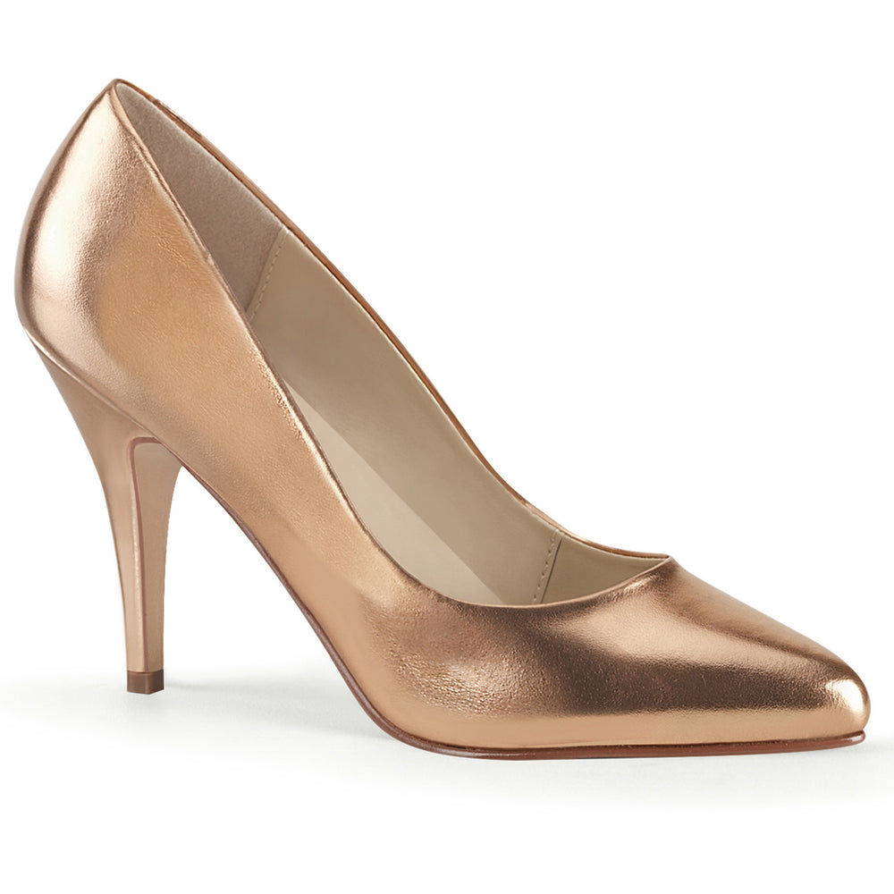 "4"" Heel VANITY-420 Rose Gold Metallic"