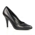 Pleaser VANITY-420 Black Leather Classic Pumps - Shoecup.com