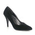 Pleaser VANITY-420 Black Velvet Classic Pumps - Shoecup.com