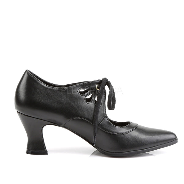 FUNTASMA VICTORIAN-03 Black Pu Mary Jane