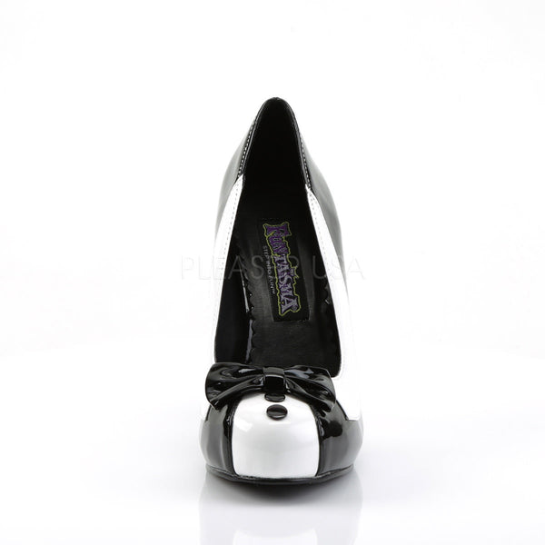 Black and White Tuxedo Style Pumps
