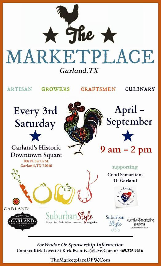 The MarketPlace Garland: Save these dates!