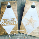 Cornhole Set (Bean Bag Toss) - The Crafty Ginger
