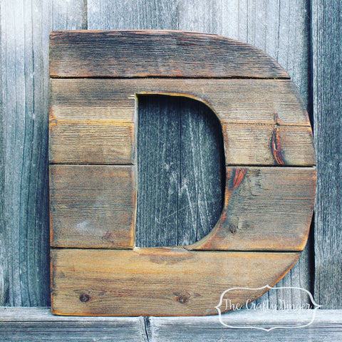 Customizable Block Letters: 12""