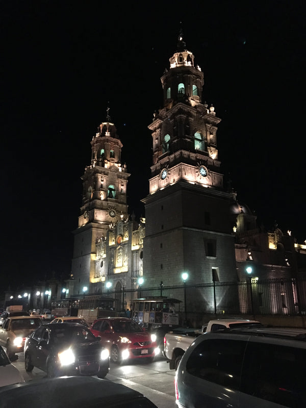 Morelia, Colonial City, maintains its roots