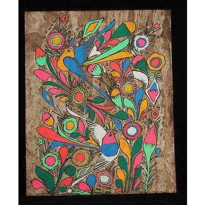 Amate Bark Painting, new twist on ancient