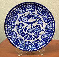 Talavera Style Pottery, Mix of Spanish, Indigenous and Mexican styles