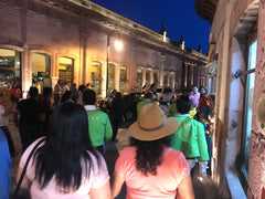 Zacatecas Night Crowd