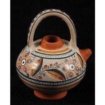 Mexican Ceramic Vessel by Master Ceramicist Fernando Jimon Sign Museum Quality 5