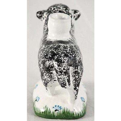 Vintage Sheep Shaped Candle Holder Hand Made Portugal Collectible Decorative