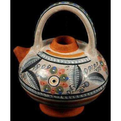 Mexican Ceramic Vessel by Master Ceramicist Fernando Jimon Sign Museum Quality 4