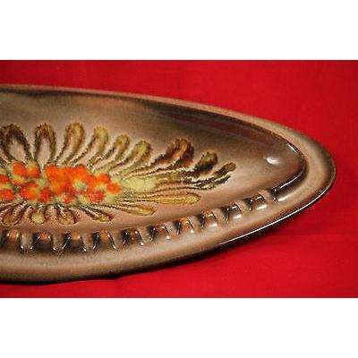 "Mid Century/Retro Ceramic Ashtray 13 1/2"" Long"