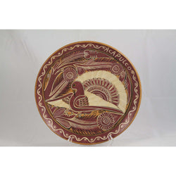 Vintage Mexican Ceramic Plate, Acapulco