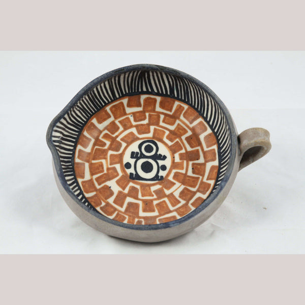 New Ceramic/Pottery Bowl/Pre Hispanic Design Gravy Bowl Carmen Chichipan