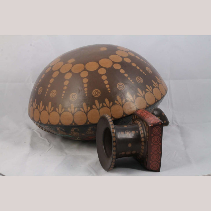 Huge Ceramic/Pottery Turtle w Base Fine Mexican Folk Art Ramon Hernandez Luna