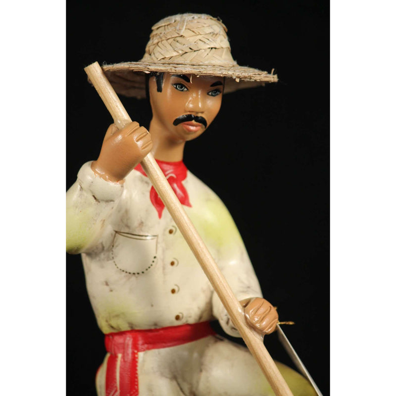Lupita Najaco Jimador Ceramic Doll Mexican Collectible Man Folk Art