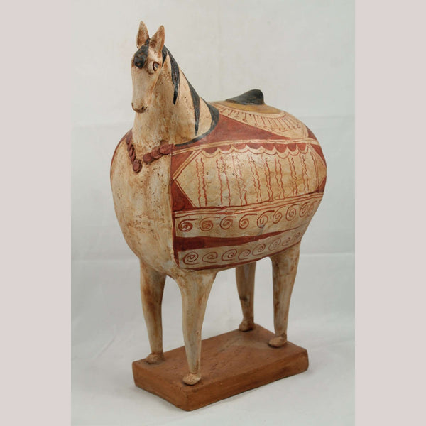 Large Ceramic Horse Sculpture Mexican Fine Art Pottery #1