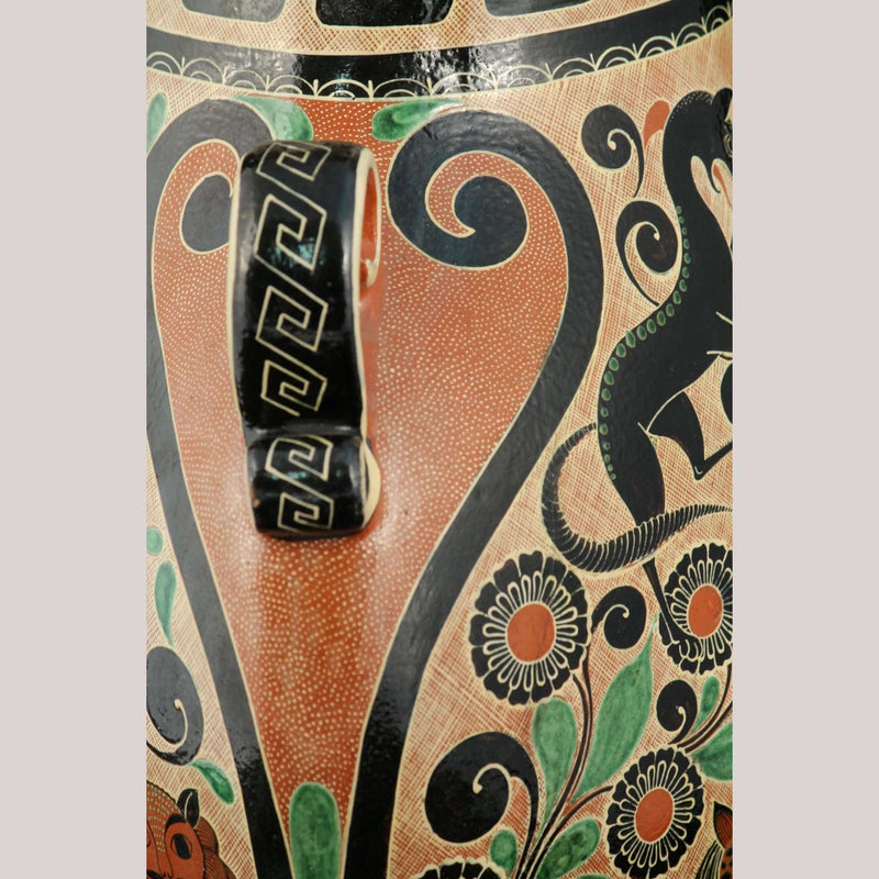 Ceramic Petatillo Vase/Jar Master Potter Geronimo Ramos Collectible Mexican