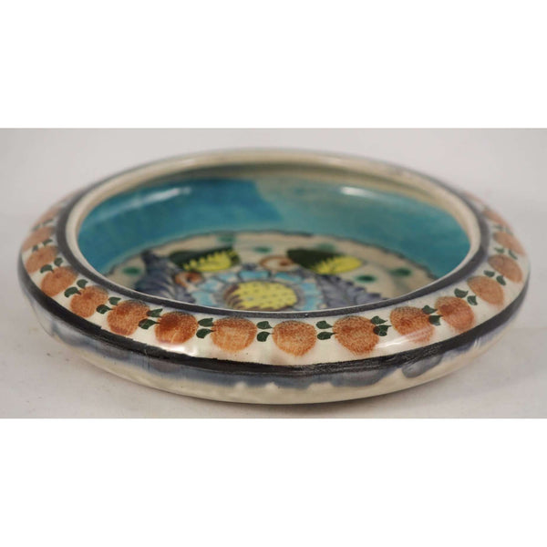 Vintage Mexican Ceramic Candy/Jewelry Decorative Dish Handmade/Painted Pottery
