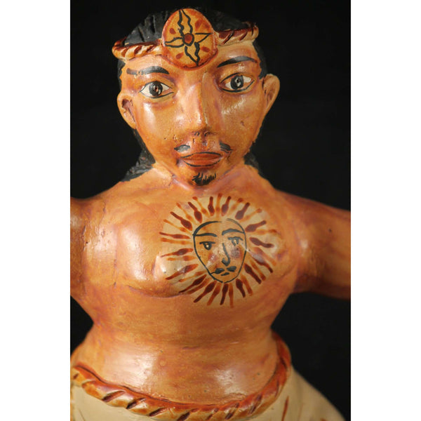 Mexican Ceramic Male Figurine Zenon Pajarito