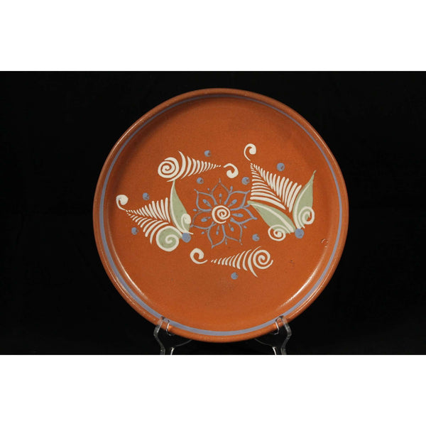 Vintage Mexican Ceramic Hand Crafted El Palomar Plate 1