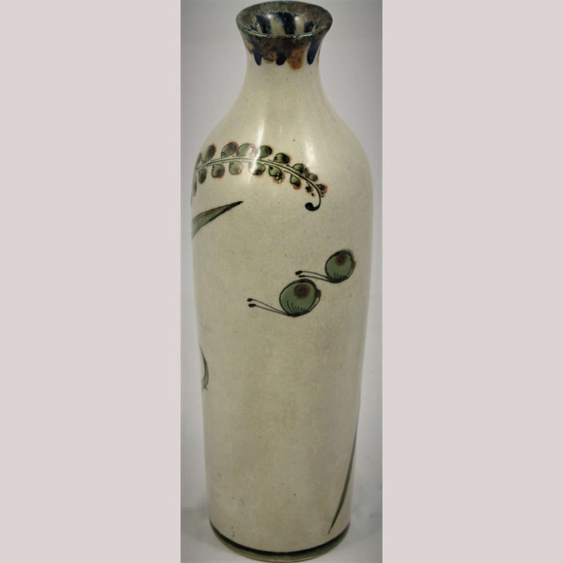 Lg Vintage Mexico Ken Edwards Ceramic/Pottery Vase Hand Painted/Thrown