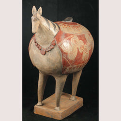 Large Ceramic Horse Sculpture Mexican Fine Art Pottery #2