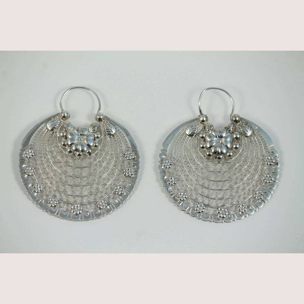 New Filigree Mexican Sterling Silver Earrings Award Winning Silver Smith