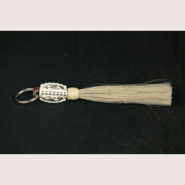 Original Horse Hair Key Chain Mexican Art Unisex Handmade Equestrian Accessories