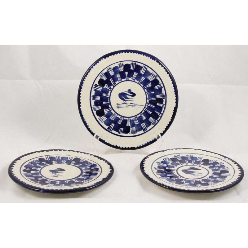 Vintage Ceramic Plates Dishes Mexican Hand Made/Painted