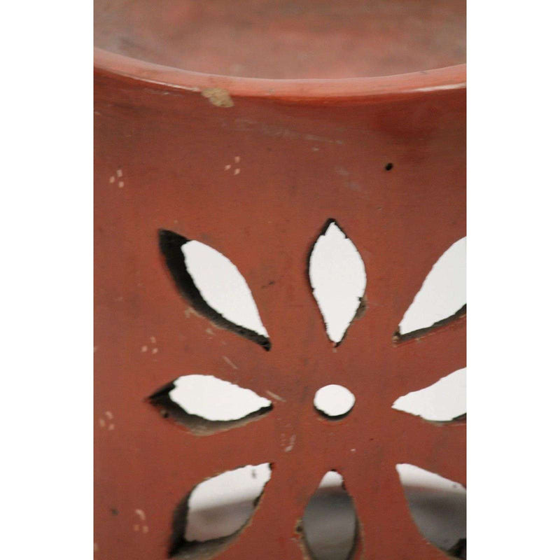 Vintage Mexican Incense/Candle Holder Signed A. Ortiz Ceramic/Pottery Folk Art