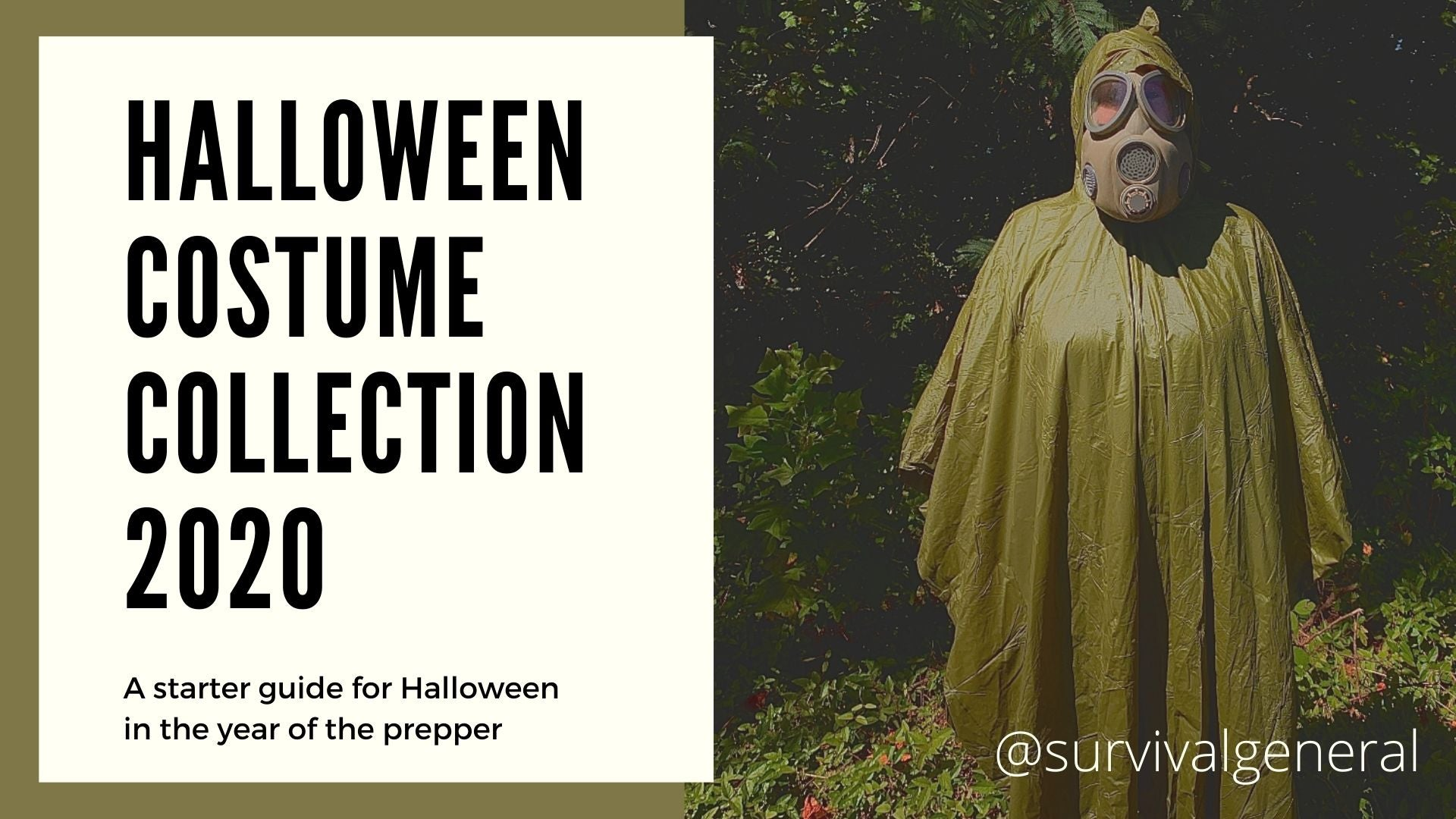 Halloween Costumes For the Prepper Zombie Apocalypse