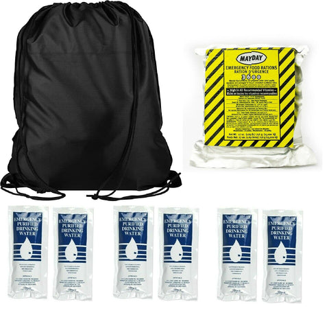 Survival General Basic Survival Kit Emergency Food and Water 3 Day Supply