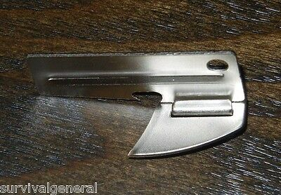 (1) Shelby P-38 Can Opener US Military Survival Emergency Kits Pocket Tool Multi