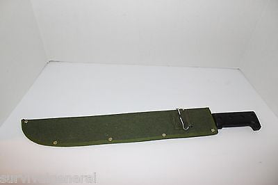 "18"" Machete w/ Sheath"