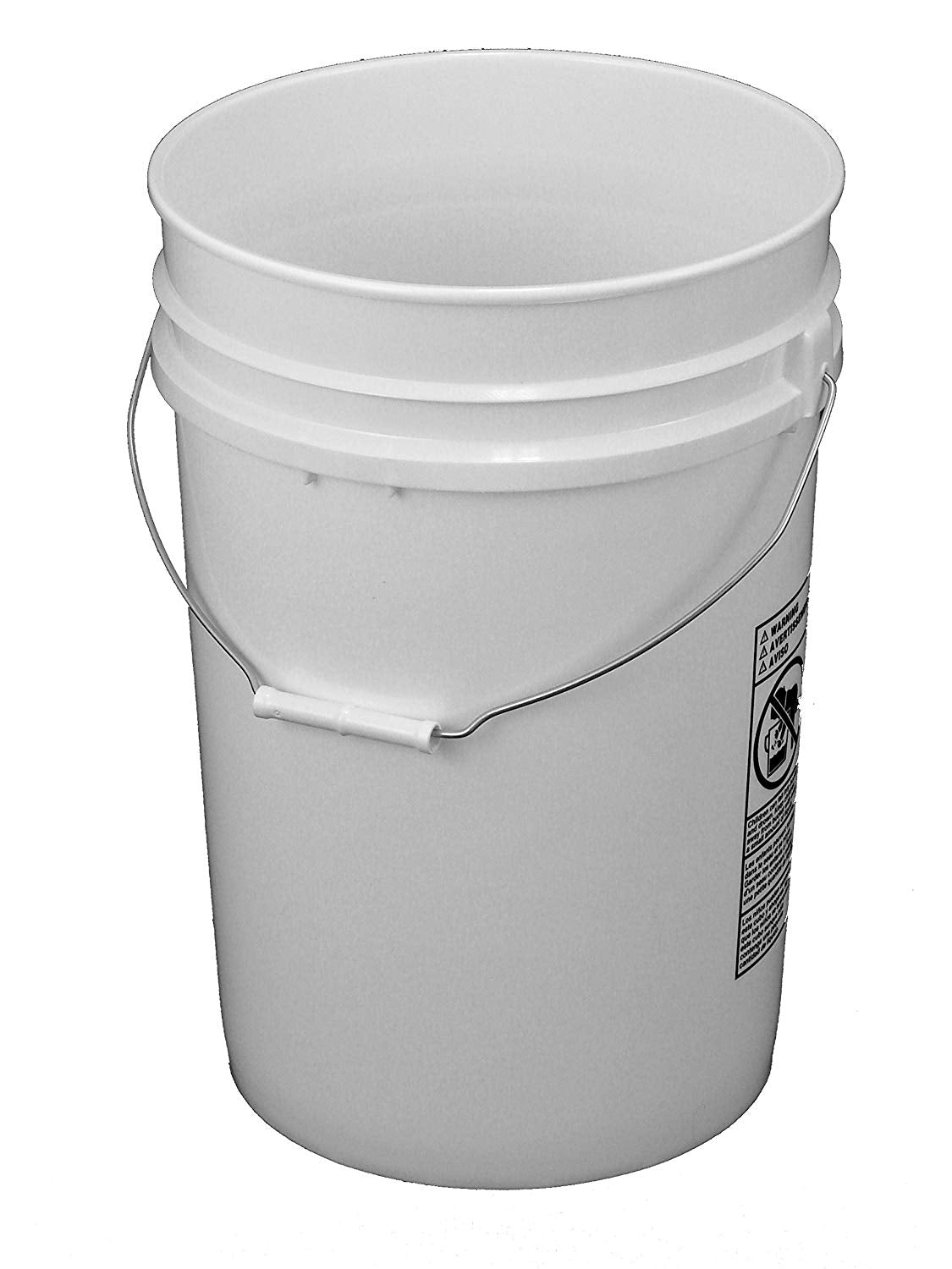 6 Gallon Food Grade Bucket with Lid
