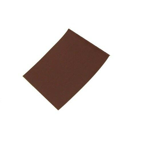 "Brown 8"" x 11"" Match Striker Paper with Adhesive Back"