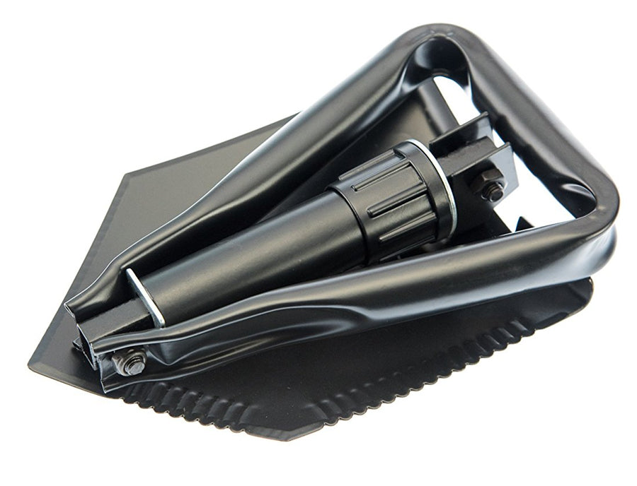Tri-Fold Foldable Shovel